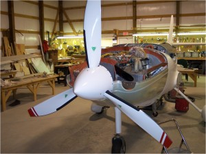 Lancair Under Construction
